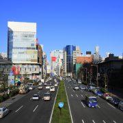 View of Minami-Aoyama 5-chome area from Aoyama Street